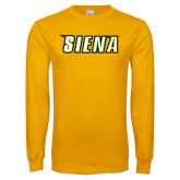 Gold Long Sleeve T Shirt-Siena