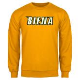 Gold Fleece Crew-Siena