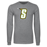 Grey Long Sleeve TShirt-S