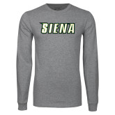 Grey Long Sleeve TShirt-Siena