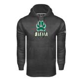 Under Armour Carbon Performance Sweats Team Hoodie-Siena w/Paw