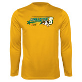Syntrel Performance Gold Longsleeve Shirt-Siena Generation S