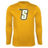 Performance Gold Longsleeve Shirt-S
