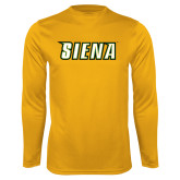 Syntrel Performance Gold Longsleeve Shirt-Siena