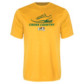 Performance Gold Tee-Cross Country Shoe Design