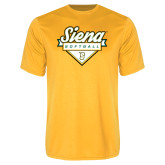 Syntrel Performance Gold Tee-Softball Plate Design