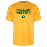 Performance Gold Tee-Water Polo Stacked