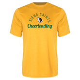 Syntrel Performance Gold Tee-Cheerleading Script Design
