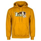 Gold Fleece Hoodie-Official Logo