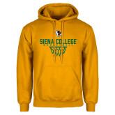 Gold Fleece Hoodie-Basketball Sharp Net