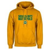 Gold Fleece Hoodie-Water Polo Stacked