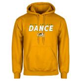 Gold Fleece Hoodie-Dance Design