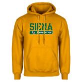 Gold Fleece Hoodie-Siena Saints Bar Design