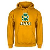 Gold Fleece Hoodie-Siena w/Paw