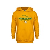 Youth Gold Fleece Hoodie-Baseball Seams Design