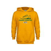 Youth Gold Fleece Hoodie-Cross Country Shoe Design