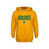 Youth Gold Fleece Hoodie-Water Polo Stacked