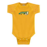 Gold Infant Onesie-Siena Generation S