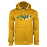 Under Armour Gold Performance Sweats Team Hoodie-Siena Generation S