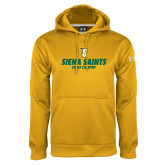 Under Armour Gold Performance Sweats Team Hoodie-Cross Country Design