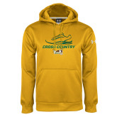 Under Armour Gold Performance Sweats Team Hoodie-Cross Country Shoe Design