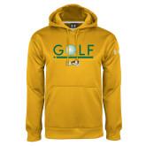 Under Armour Gold Performance Sweats Team Hoodie-Golf Ball Design