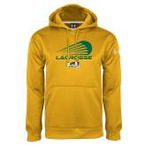 Under Armour Gold Performance Sweats Team Hoodie-Modern Lacrosse Design