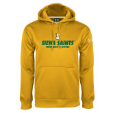 Under Armour Gold Performance Sweats Team Hoodie-Swimming and Diving Design