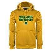 Under Armour Gold Performance Sweats Team Hoodie-Water Polo Stacked