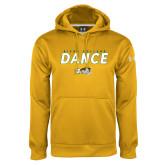 Under Armour Gold Performance Sweats Team Hoodie-Dance Design