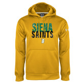 Under Armour Gold Performance Sweats Team Hoodie-Siena Saints Stacked