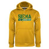 Under Armour Gold Performance Sweats Team Hoodie-Siena Saints Bar Design