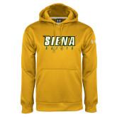 Under Armour Gold Performance Sweats Team Hoodie-Siena Saints