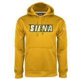 Under Armour Gold Performance Sweats Team Hoodie-Siena
