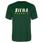 Performance Dark Green Tee-Grandpa