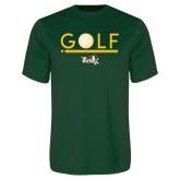 Performance Dark Green Tee-Golf Ball Design