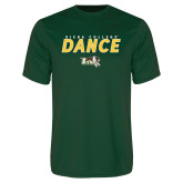 Performance Dark Green Tee-Dance Design