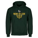 Dark Green Fleece Hood-Basketball Sharp Net