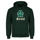 Dark Green Fleece Hood-Siena w/Paw