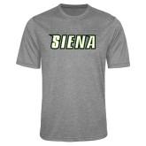 Performance Grey Heather Contender Tee-Siena