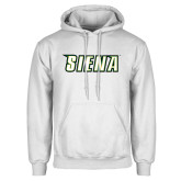 White Fleece Hoodie-Siena