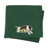 Dark Green Sweatshirt Blanket-Official Logo