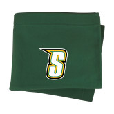 Dark Green Sweatshirt Blanket-S