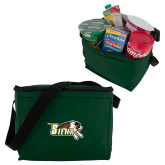 Six Pack Dark Green Cooler-Official Logo