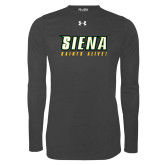 Under Armour Carbon Heather Long Sleeve Tech Tee-Saints Alive!