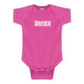 Fuchsia Infant Onesie-Siena