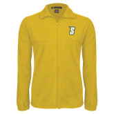 Fleece Full Zip Gold Jacket-S