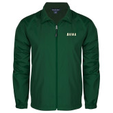 Full Zip Dark Green Wind Jacket-Siena