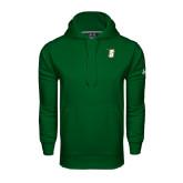 Under Armour Dark Green Performance Sweats Team Hoodie-S