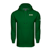 Under Armour Dark Green Performance Sweats Team Hoodie-Siena